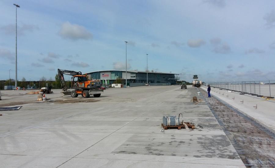 Flughafen Rostock Laage, Projekt von Ulf Stein, Bauingenieur
