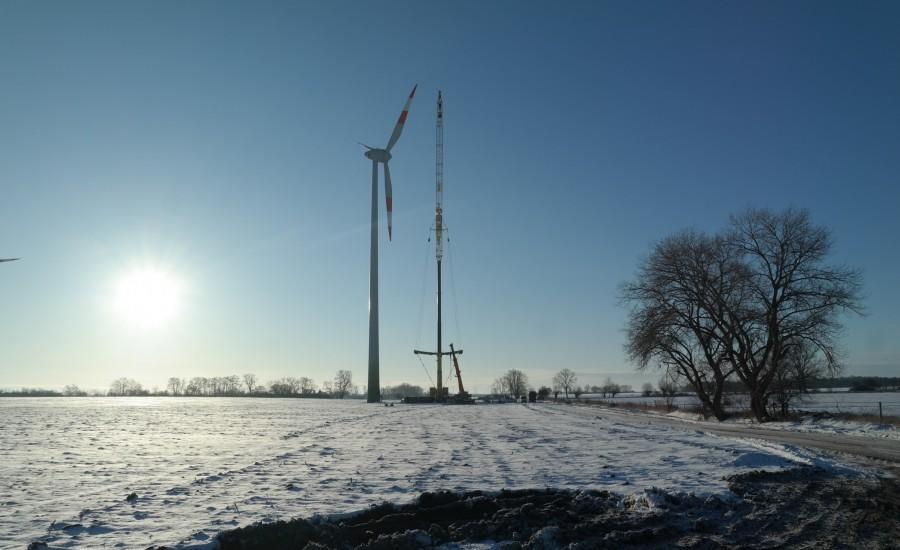 Repowering WP Krusemark-Ellingen, Projekt von Ulf Stein, Bauingenieur