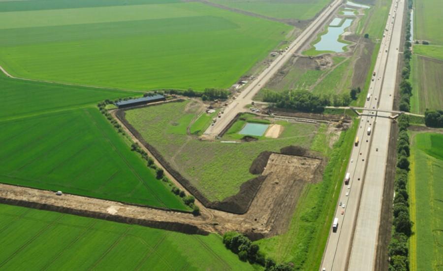 Industriegebiet IG Halle-Saalkreis, Projekt von Ulf Stein, Bauingenieur