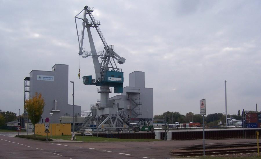 Hafen in Halle, Projekt von Ulf Stein, Bauingenieur