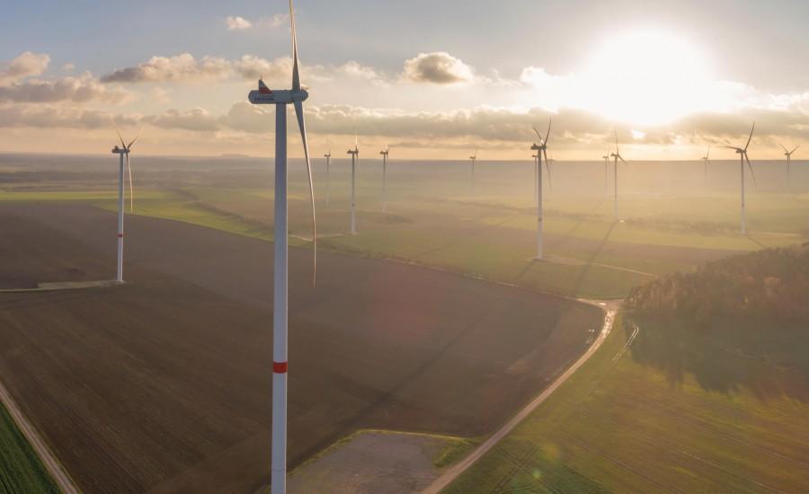 Windpark Hüselitz, Projekt von Ulf Stein, Bauingenieur